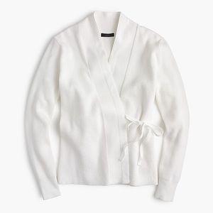 NWT J. Crew Kimono Cardigan sweater White